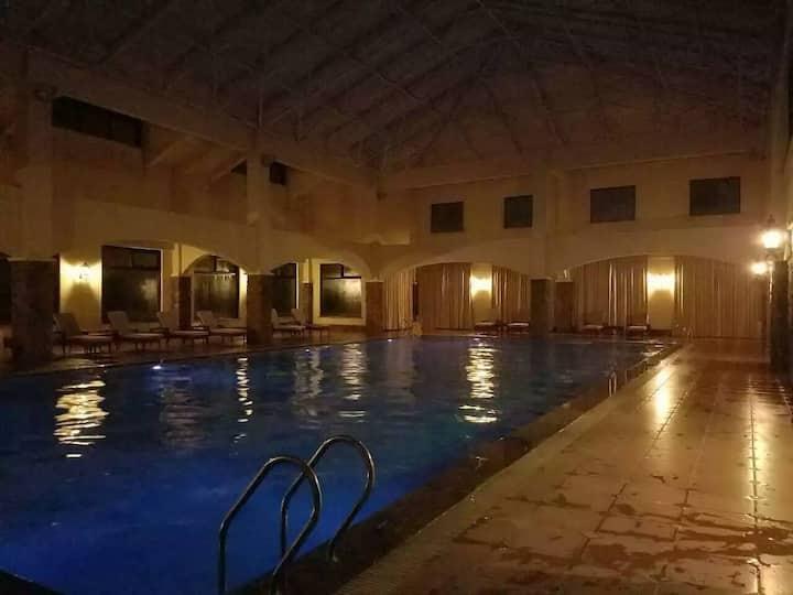崇礼滑雪  5星的容辰国际假日酒店给您一个家的感觉