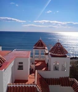Spaans huis bij Nerja max 4 personen. - Mezquitilla - Rumah