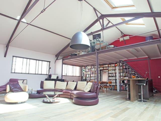 Voluminous Loft - design & cosy - Parigi - Loft