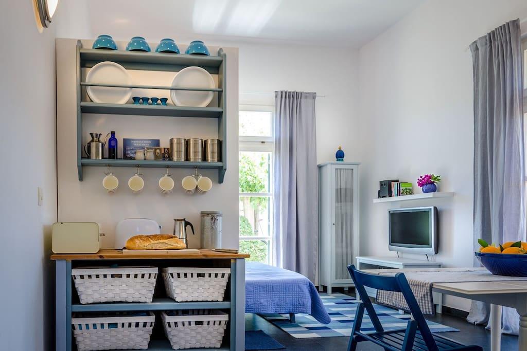 Küche/Wohnbereich Kitchen/Living Area