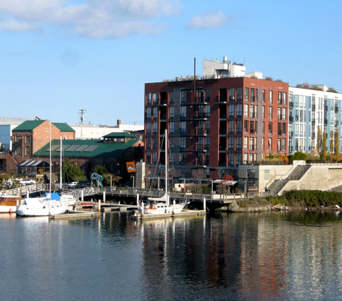 Mermaid Wharf on the Inner Harbour
