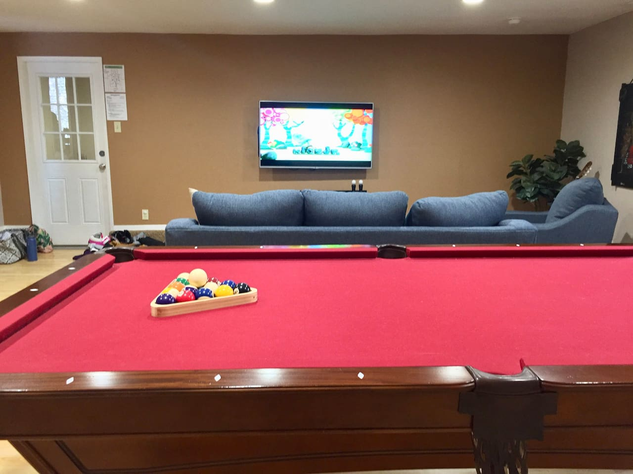 Family & Game Room Combo