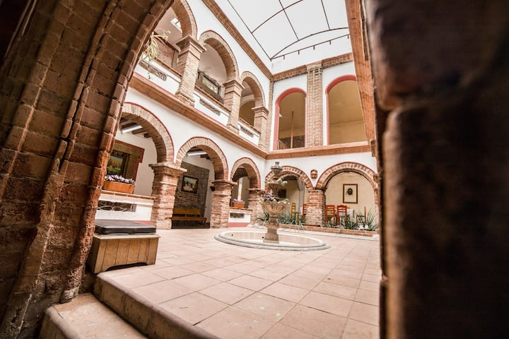 Hotel Ex Hacienda El Molino.