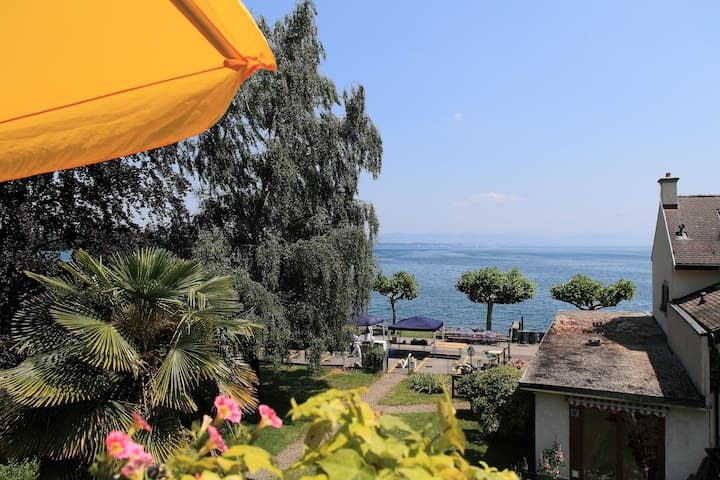 010 Nice room with view on the lake - Saint-Prex - Apartament