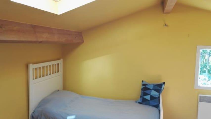 Grand appartement lumineux & jardin, près d'Uzès - Saint-Quentin-la-Poterie - Appartement