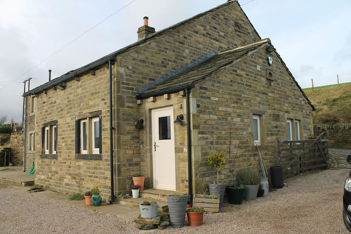 Shaw Fields Farm Cottage, - Slaithwaite - Casa