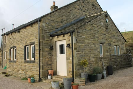 Shaw Fields Farm Cottage, - Slaithwaite - Rumah