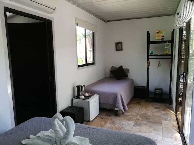 Shipping Container Triple room in Green Sanctuary
