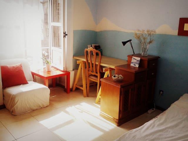 Sunny room in Old Town Porto Centre - Porto - Appartement