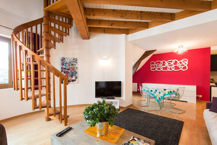 Downtown, quiet and cosy - Annecy - Apartment