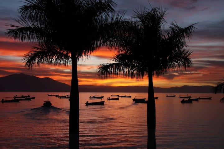 Sunset at Chapala Lake