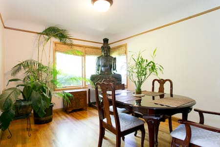 QUIET RETREAT SETTING FOR 10+ FOLKS - Portland - House