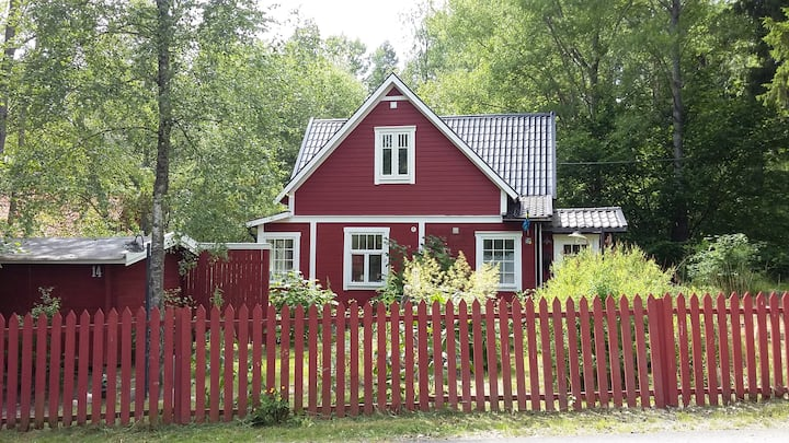 A lovely unique old house, only 15 km from Sthlm