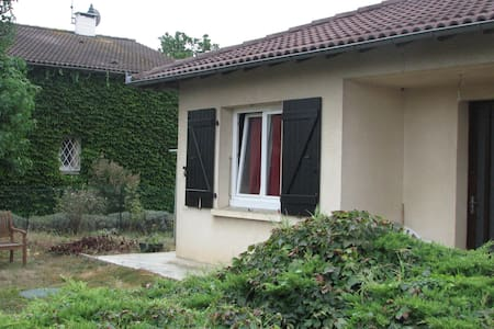 Bedroom to rent near Toulouse - Villeneuve-Tolosane - Villa