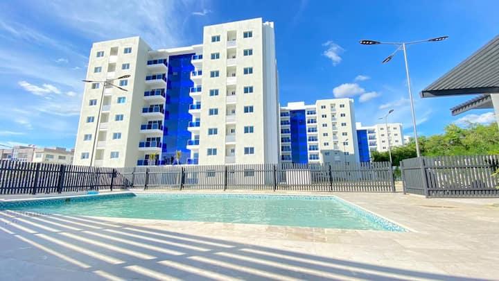 Moderno y lujoso apartamento en santiago