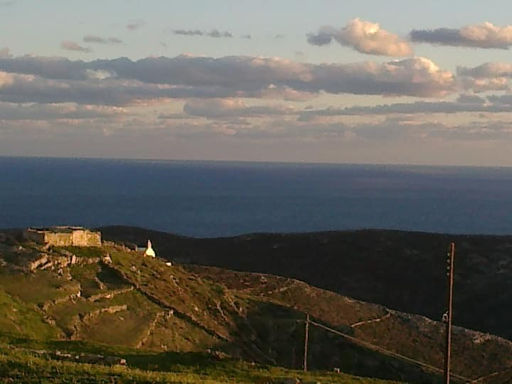 Folegandros rooms, great seaview