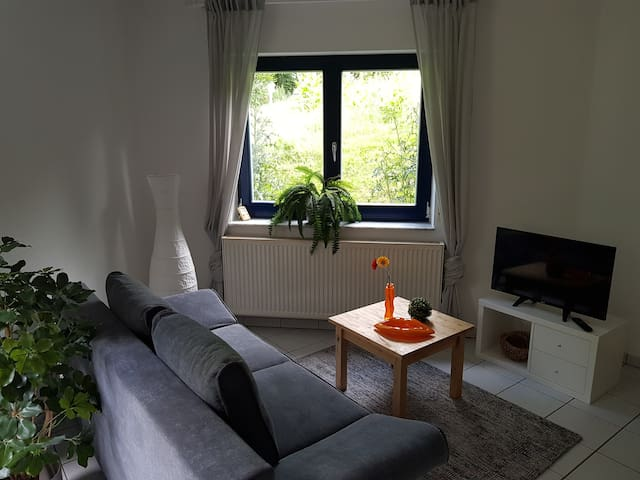 Ruhige Wohnung in Ortsrandlage