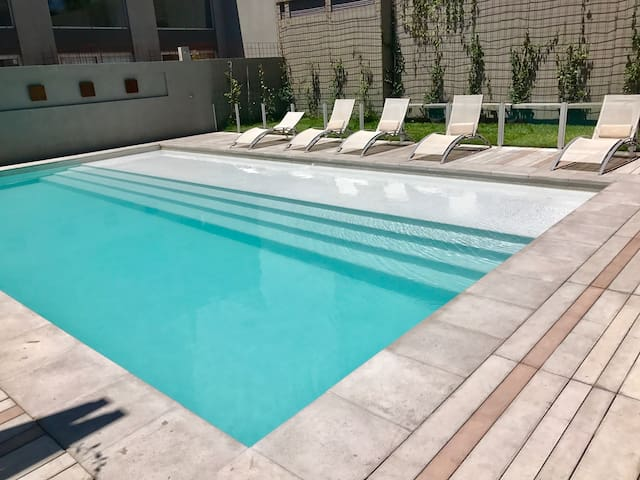 Luxury and Cozy Studio w/ Gym &Pool - Buenos Aires - Apartamento