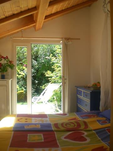 Chambre jardin (version un lit double)