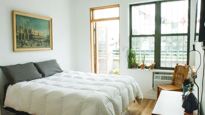 Private Balcony + Your Own Floor in East Village