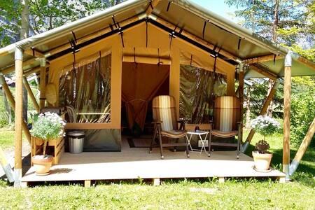 Safaritent 4 persons (GROSSHORN) / Camping Rütti