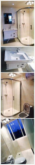 干净整洁的卫生间对于出门在外的游客来说很重要