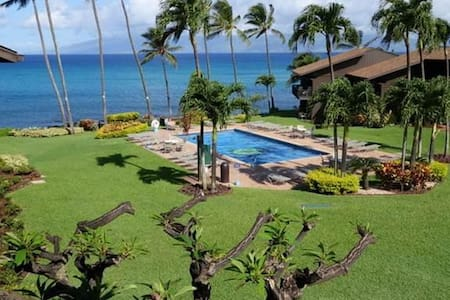Ocean View - Mahina Surf 218 (Two Bedroom Two Bath Oceanfront) - Napili-Honokowai - Appartement