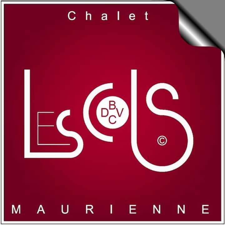 Chalet LES COLs - Chambres Terrasse Jardin Parking