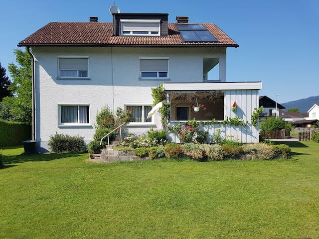 Gemütliche Wohnung in ruhiger Umgebung bei Bregenz