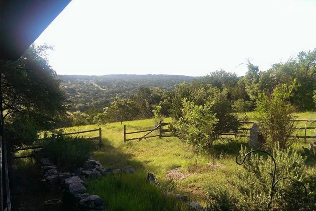 The view from the front porch.