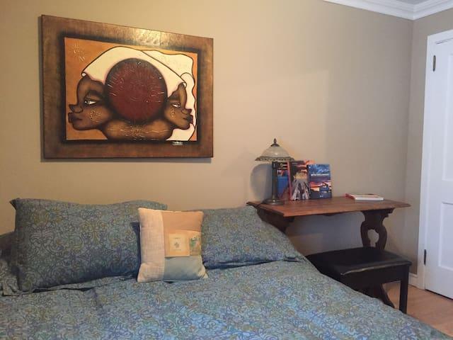 Chambre chaleureuse dans le «vieux» Val-d'Or
