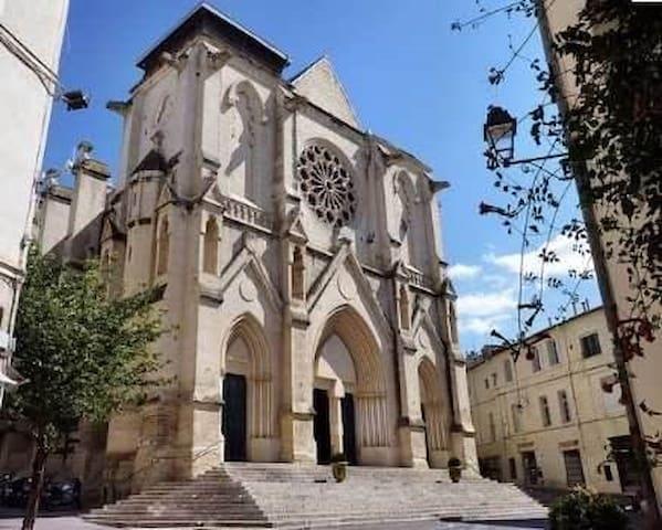 Au coeur du quartier St Roch - Montpellier - Apartamento