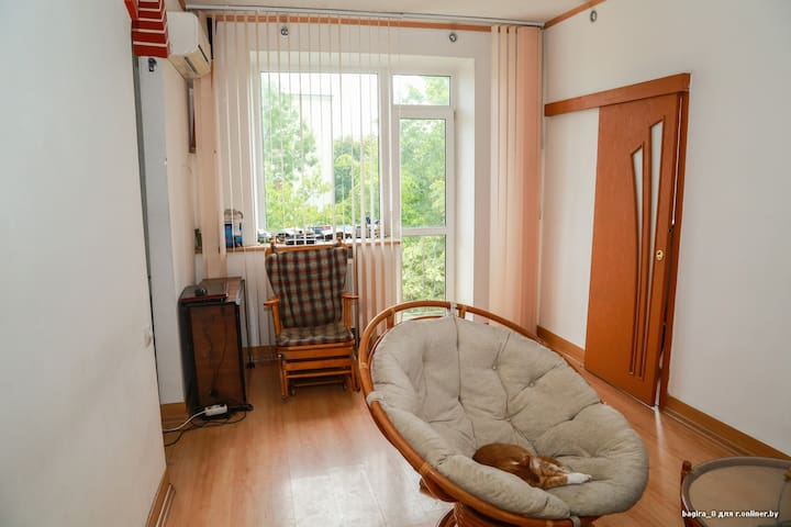 Within 3minutes walk from subway, bright and cosy - Minsk