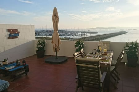 LARGE TERRACE OVER THE SEA - VILANOVA'S URBAN AREA