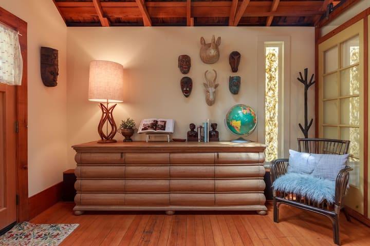 living room credenza