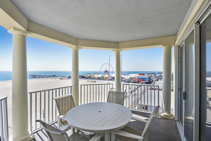 Belmont Towers 601 - Direct Oceanfront on the Boardwalk!