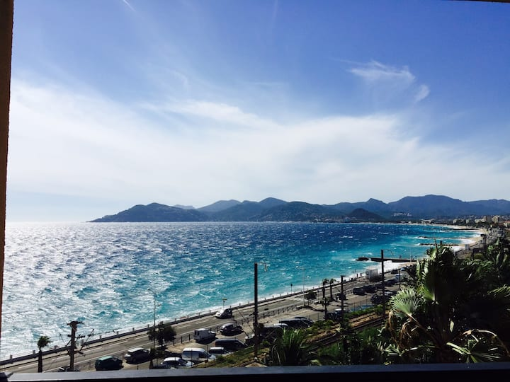 App.  42 m2,  balcony 25 m2. Fantastic sea view.