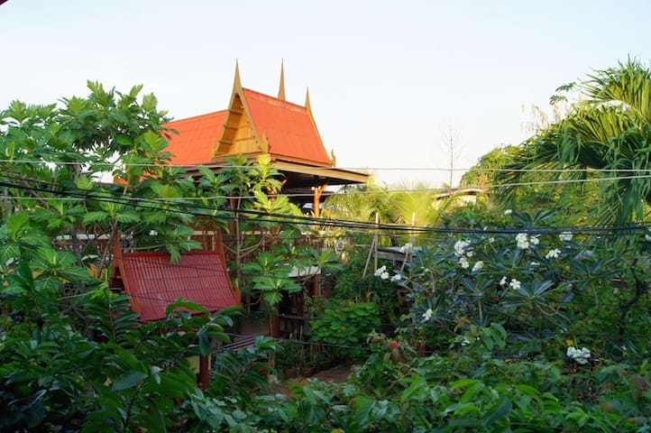 Piyachat Thai House - Home Stay - Bangkok - Casa