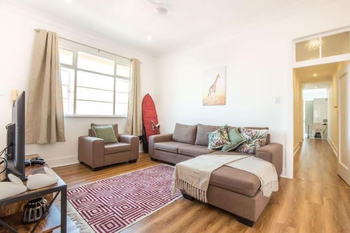The penthouse apartment Glenwood