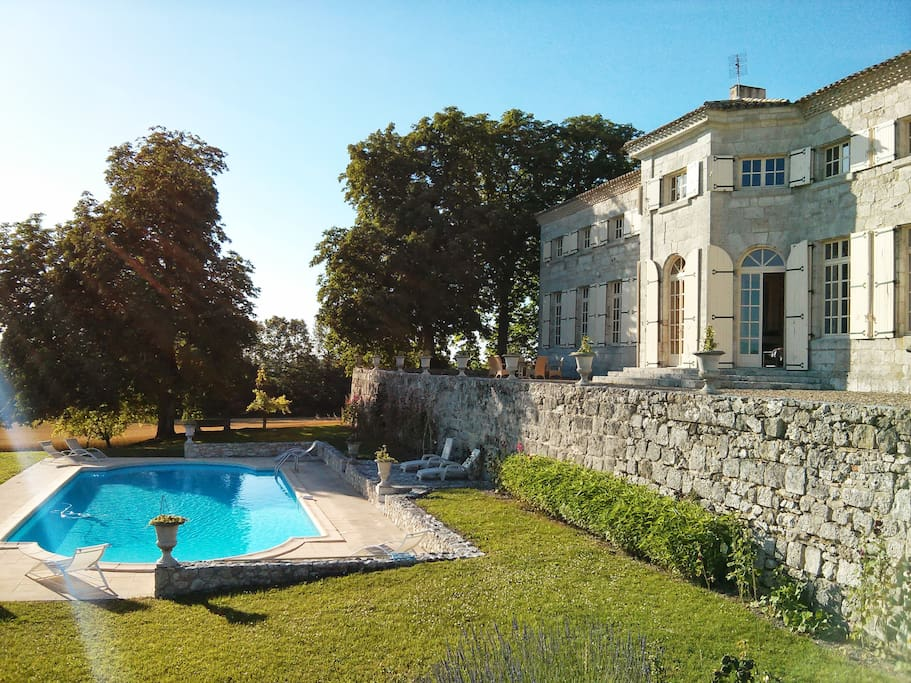 Charming Mansion from 17th, Pool
