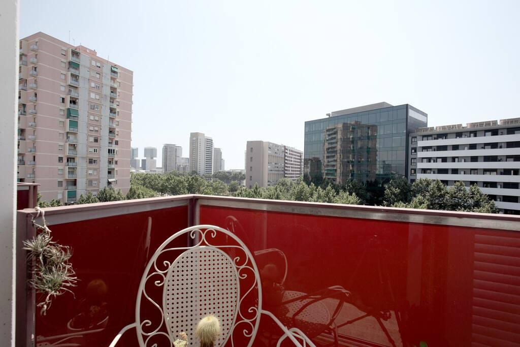 Balcón exterior