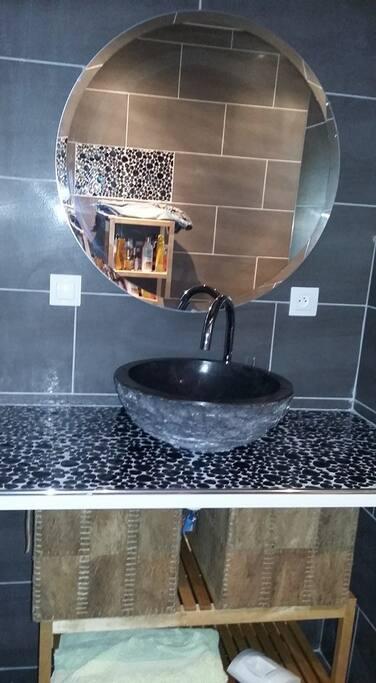Vasque marbre rdc