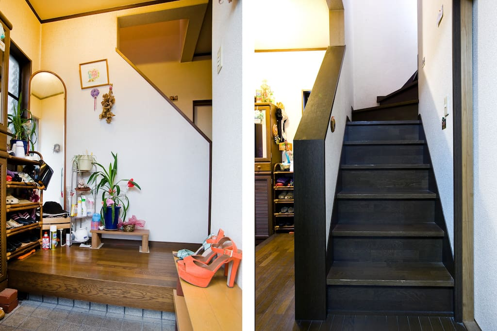 Entrance & stairs