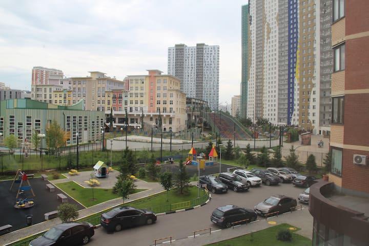 """Квартира Студия, ГК """"Снежком"""", Молодежная 2 Красно"""
