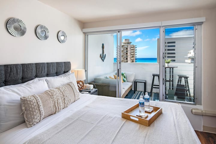 Ocean View Studio in Waikiki