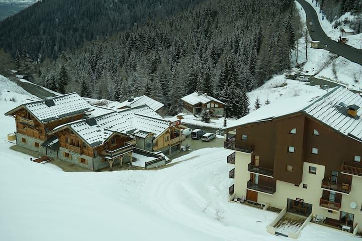Ski in ski out in Plagne 1800 - Mâcot-la-Plagne