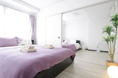 Close to Nanba/Naikai line! 2 Rooms for 10ppl!#5T3 - Tennōji-ku, Ōsaka-shi