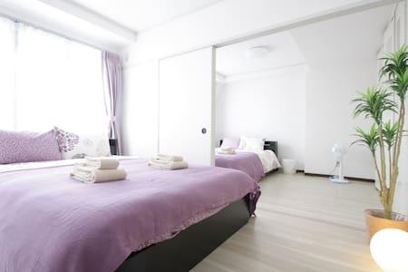Close to Nanba/Naikai line! 2 Rooms for 10ppl!#5T3 - Tennōji-ku, Ōsaka-shi - Wohnung