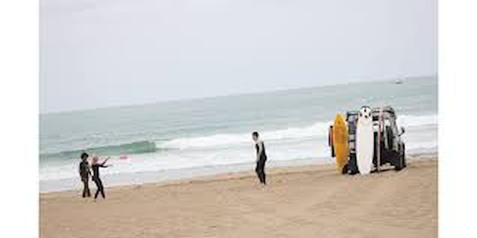 Surfing in Mehdya is one of the best in the world - a surfing school can help if you want to try
