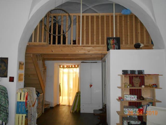 """""""In Bottega"""" - Home-studio - Open space"""